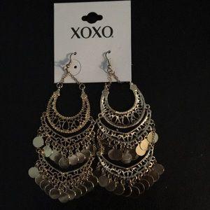 XOXO Boho Earrings Gold